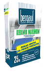 Клей BERGAUF Keramik MAXIMUM 25 кг.